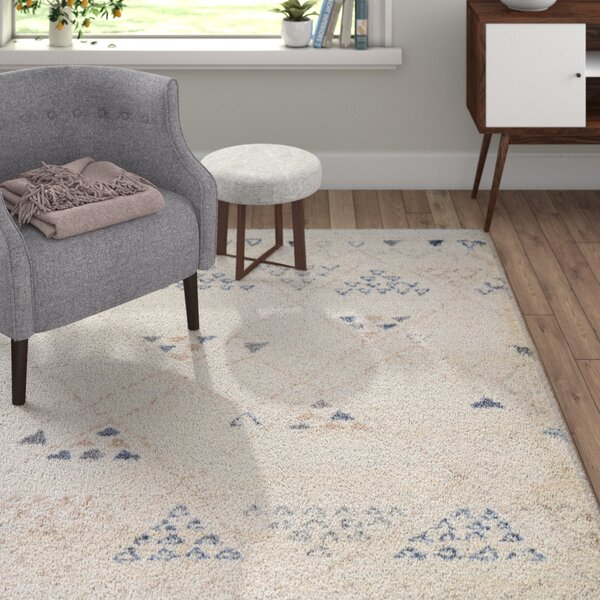 Kimberly Beige/BlueArea Rug by Langley Street