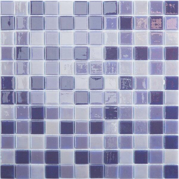 Lux Eco 12.375 W x 12.375 L Glass Mosaic in Northern Lights by Kellani