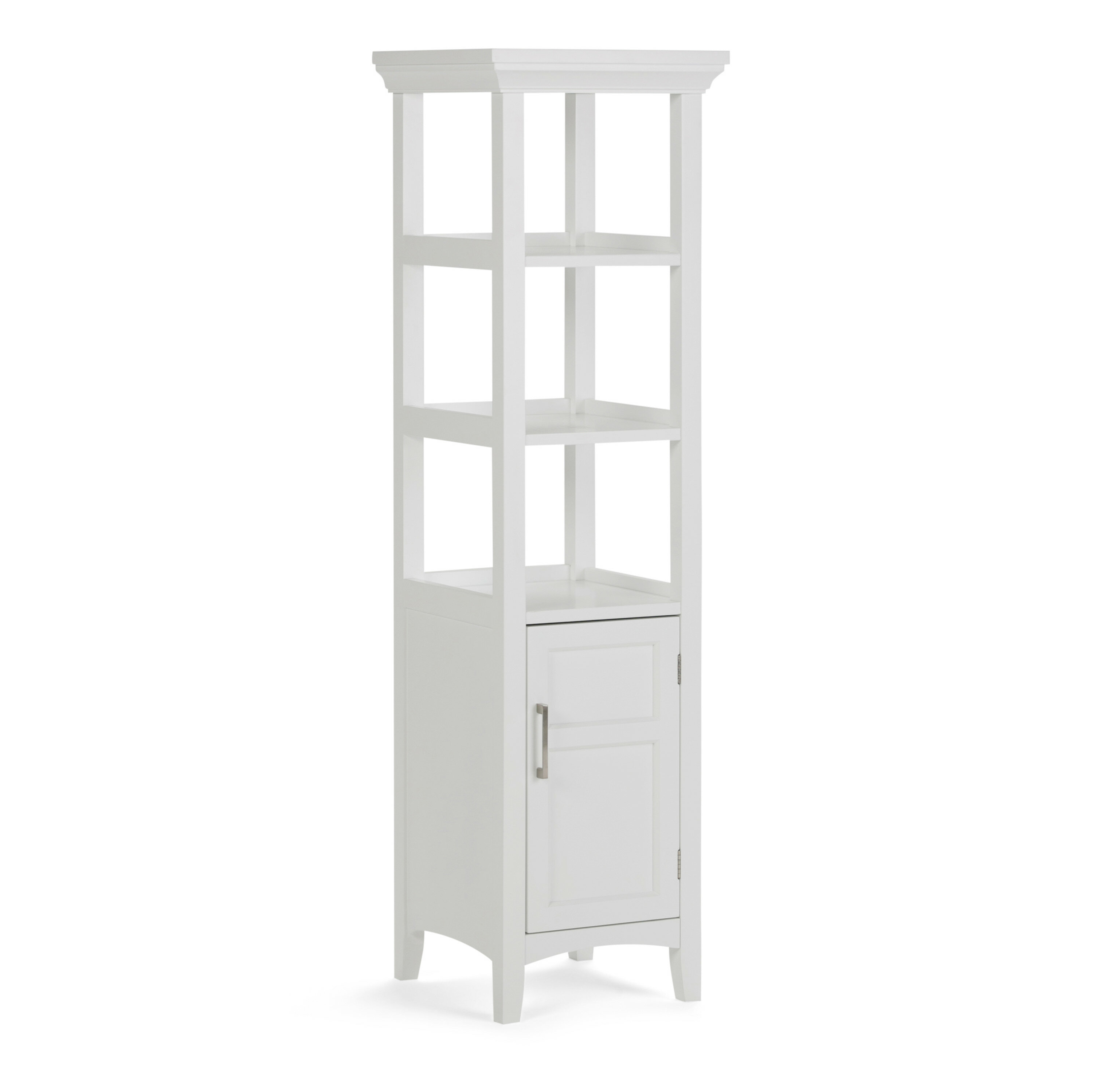 Alabama 15 8 W X 56 3 H Linen Storage Tower