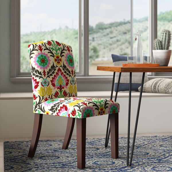 Erick Darling Arched Dining Side Chair by Mistana