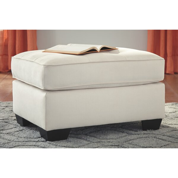 Pinkney Tufted Ottoman by Charlton Home