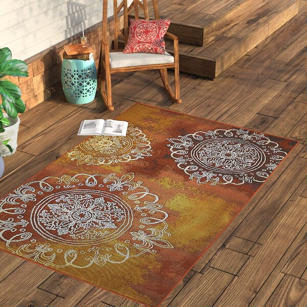 Victoria Brown Area Rug by World Menagerie