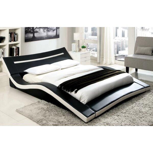 Crenshaw Alzia Upholstered Plateform Bed by Orren Ellis