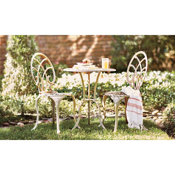 Messer 3 Piece Bistro Set by Astoria Grand