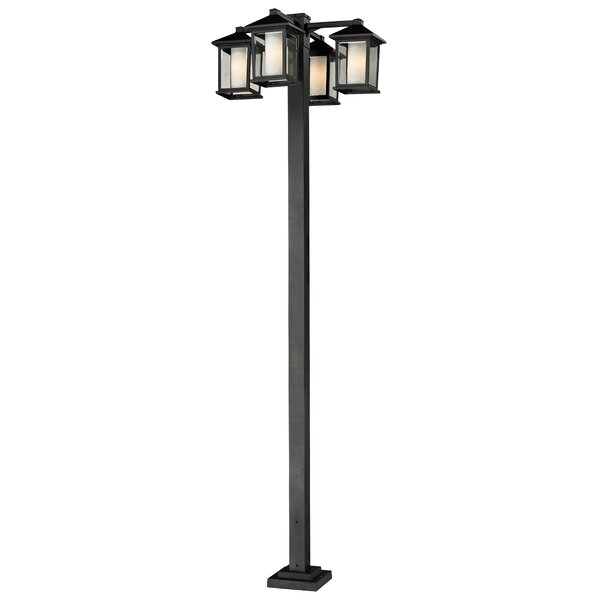 Olive Modern 4-Light 99 Post Light by Andover Mills