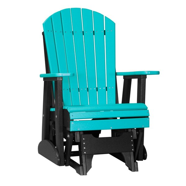 Gonsalve Adirondack Glider Chair by Ebern Designs