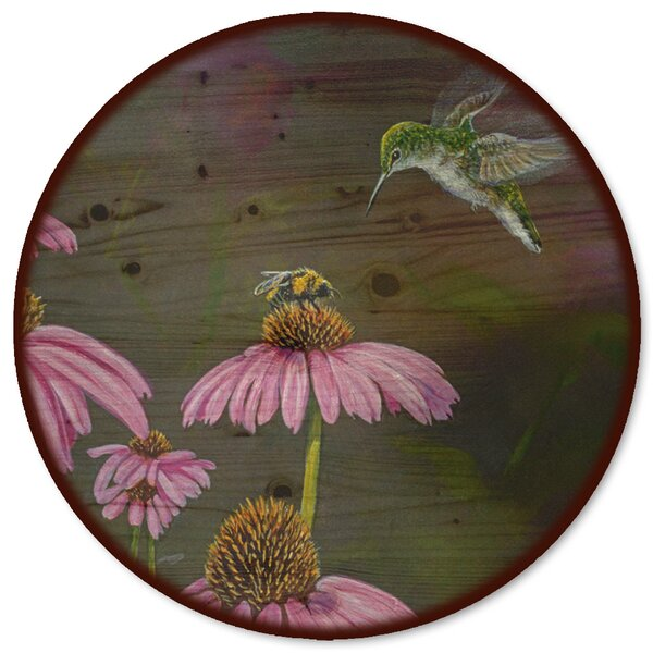 Competition Bee Hummingbird Lazy Susan by WGI-GALLERY