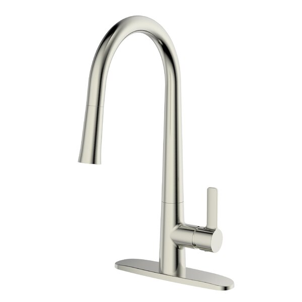 Single Handle Pull Down Kitchen Faucet by UCore