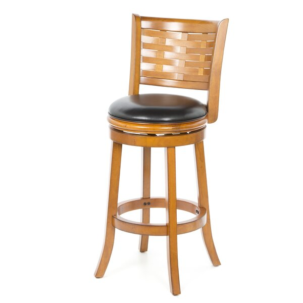 Ansari 29 Swivel Bar Stool by Alcott Hill