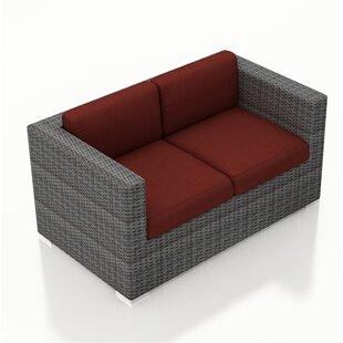 District Loveseat with Cushions by Harmonia Living