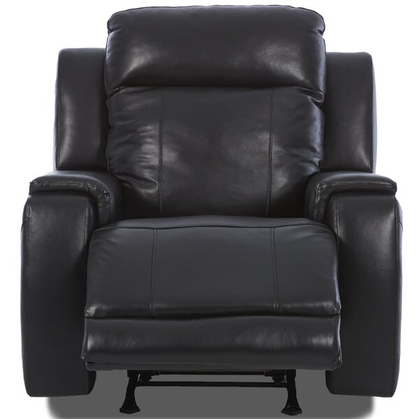 Biali Recliner with Foam Seat Cushion by Red Barrel Studio