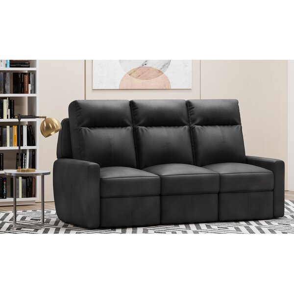 Cody Leather Reclining Sofa by Westland and Birch