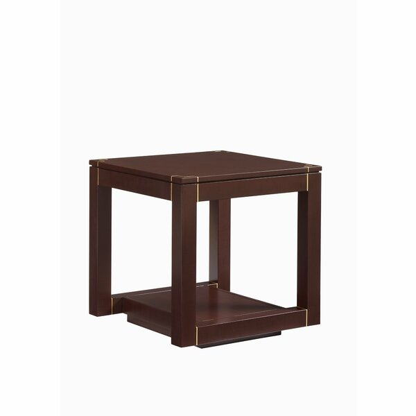 Panavista Floor Shelf End Table By Stanley Furniture