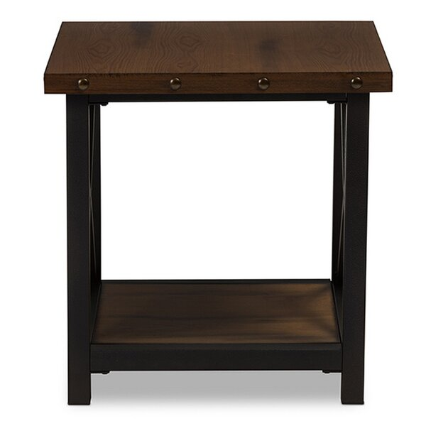 Chiana End Table By Williston Forge Bargain