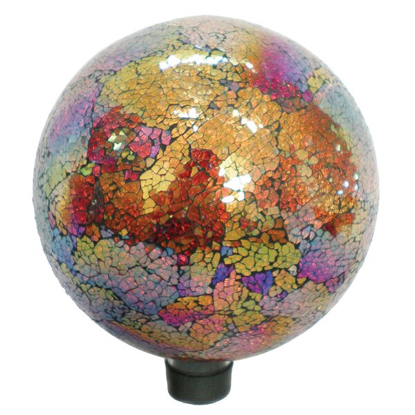 Mosaic Glass Gazing Globe by VCS