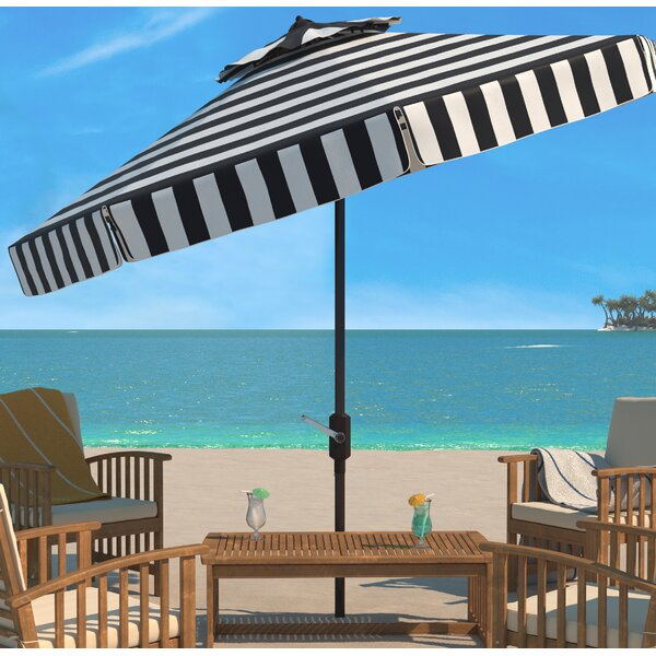 Trainor 11' Beach Umbrella by Breakwater Bay Breakwater Bay