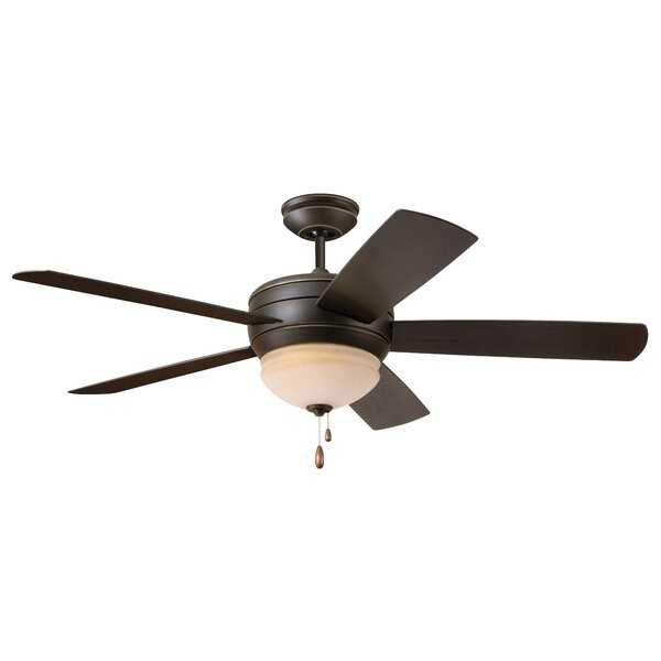 "52"" Ericson 5 Blade LED Ceiling Fan by Darby Home Co"