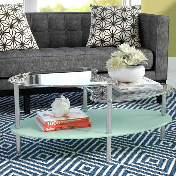Hegarty Two Tier Coffee Table by Wrought Studio
