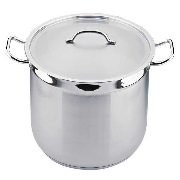 Hotel 16-qt. Stainless Steel Stock Pot with Lid by BergHOFF International