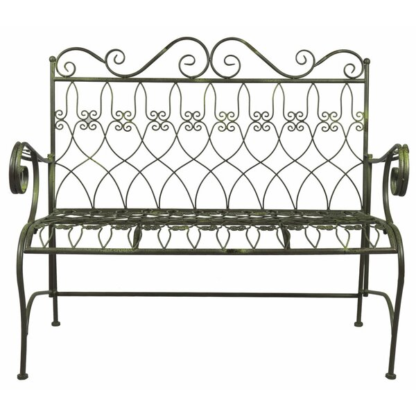Falbo Metal Garden Bench by August Grove