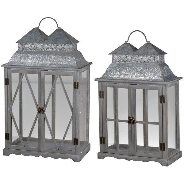 2 Piece Lantern Set by One Allium Way