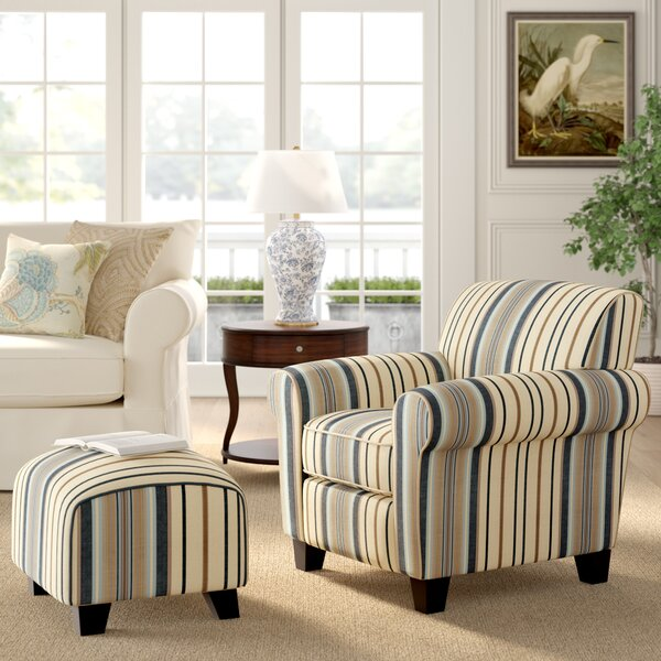 Aine Armchair and Ottoman by Andover Mills Andover Mills