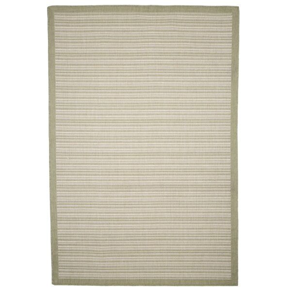 Green/Beige Indoor/Outdoor Area Rug by Plymouth Home