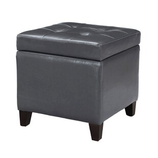 Black Fade Resistant Storage Ottomans You Ll Love In 2021 Wayfair