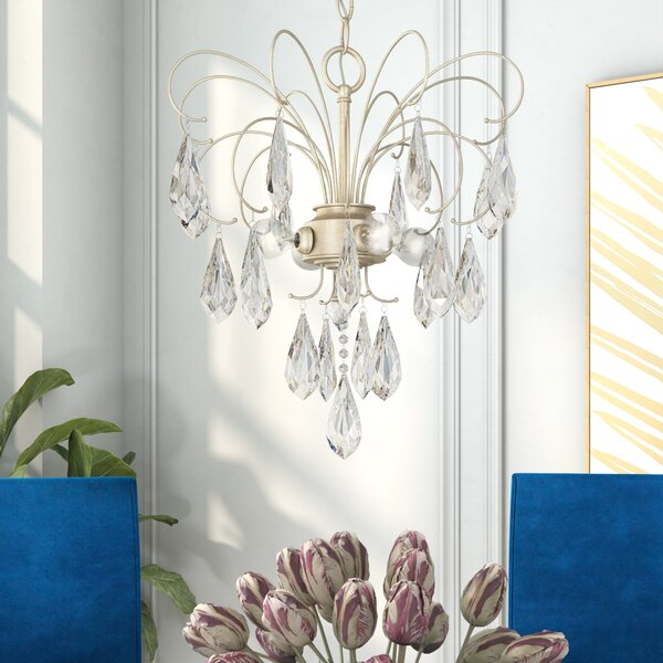 Oriana 4 - Light Unique / Statement Classic / Traditional Chandelier by House of Hampton House of Hampton