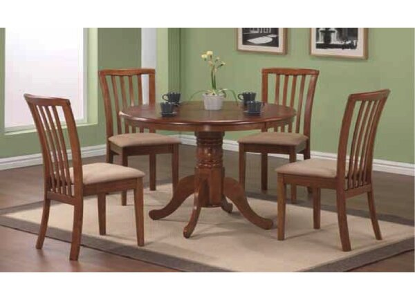 Sherman Solid Wood Dining Table by Alcott Hill