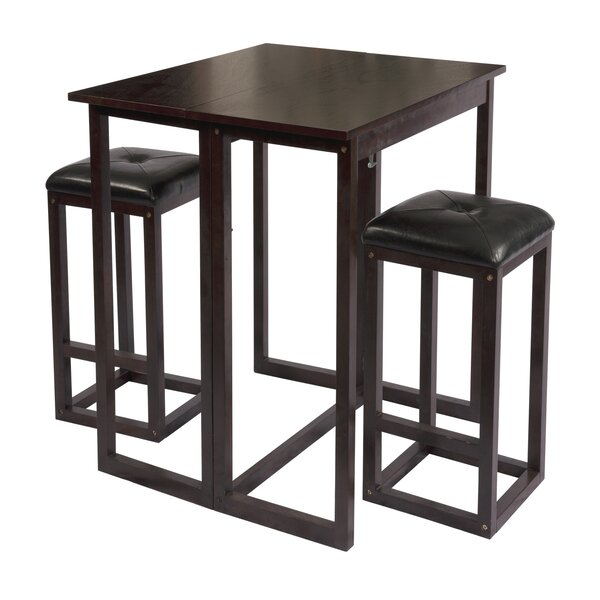 The Bay Shore 3 Piece Dining Set by Wildon Home®
