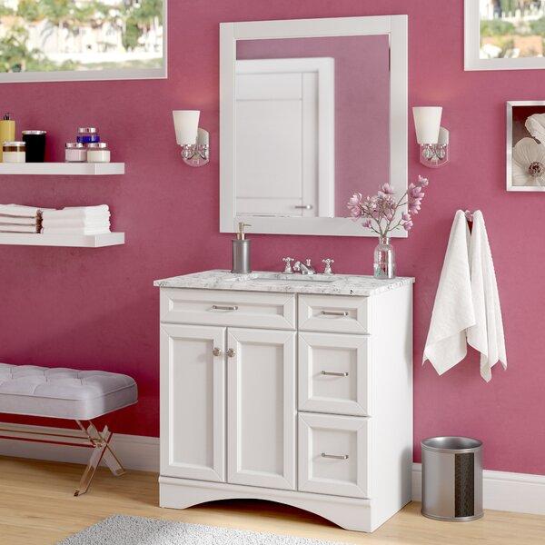 Madi 36 Single Vanity Set with Mirror by Willa Arlo Interiors