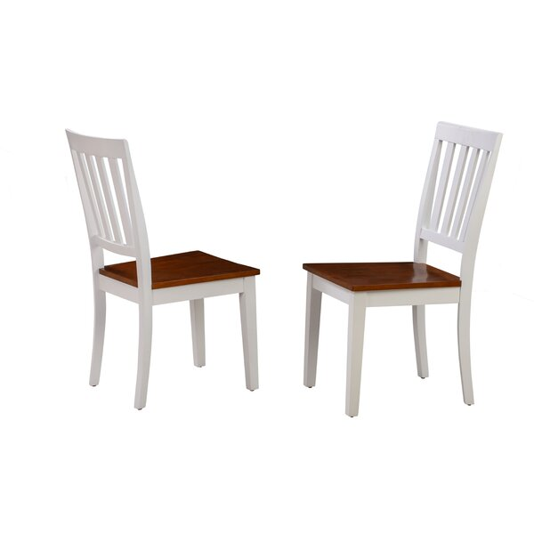 Milagros Solid Wood Dining Chair (Set Of 2) By August Grove