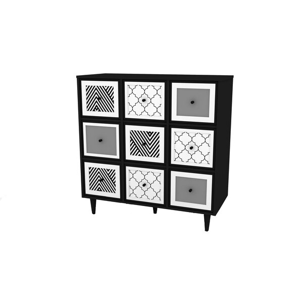 Neasa  6 Door Accent Cabinet by Bungalow Rose