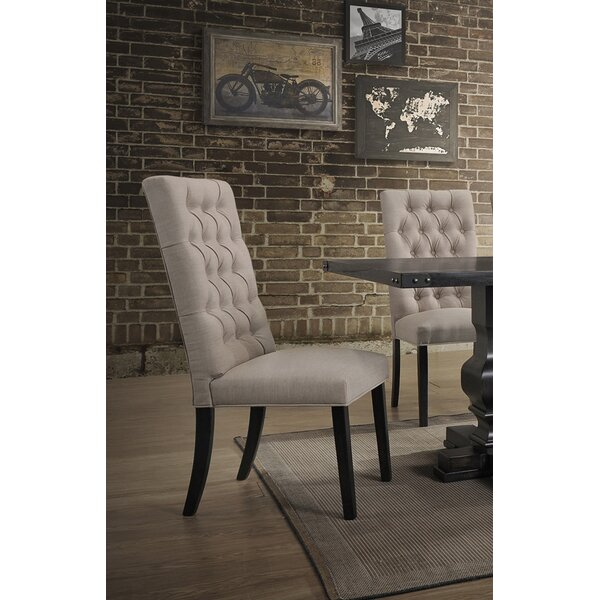 KeeLee Upholstered Dining Chair (Set of 2) by Darby Home Co