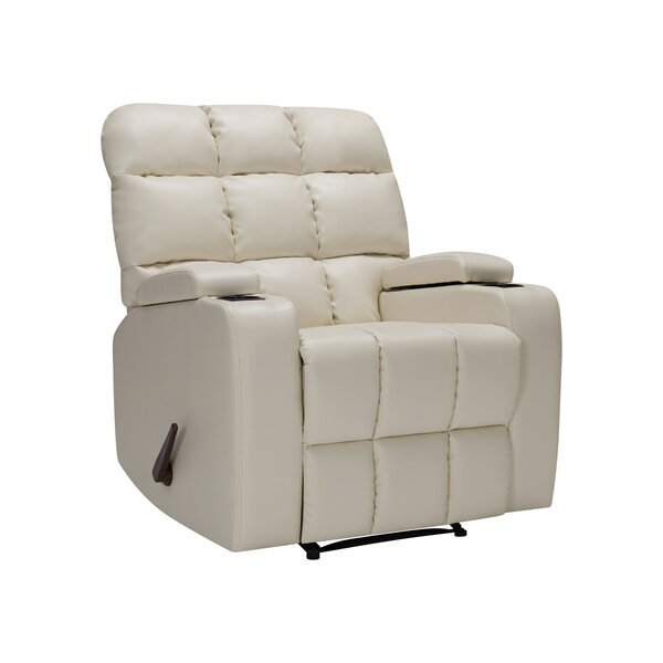 Dierks Manual Wall Hugger Recliner [Red Barrel Studio]