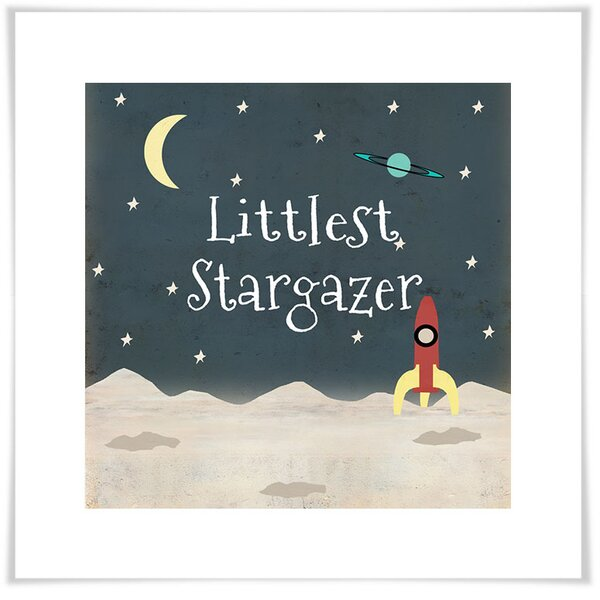 Lavonne Littlest Stargazer Paper Print by Harriet Bee