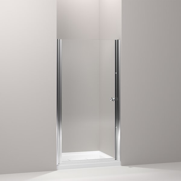 Fluence 35.25 x 65.5 Pivot Shower Door with CleanCoat® Technology by Kohler