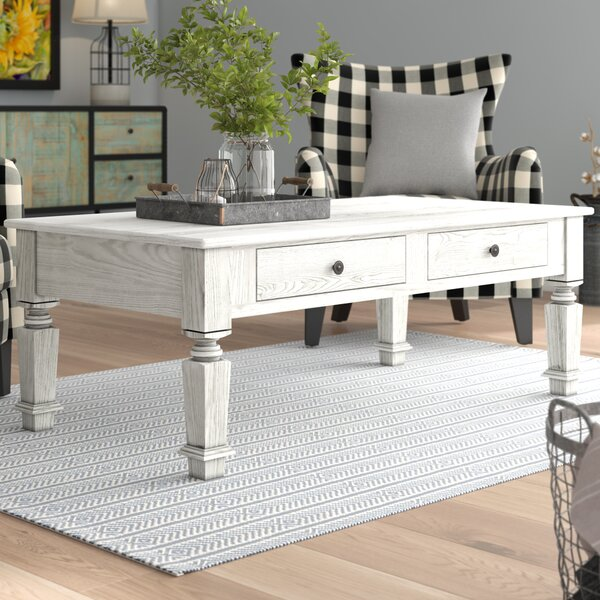 Haynie Coffee Table With Storage