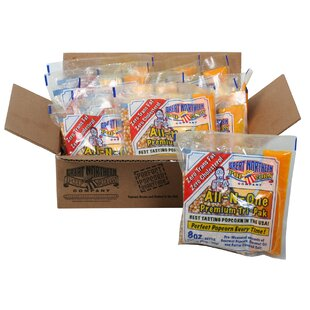 Great Northern Popcorn 8 Oz. Kettle Popcorn Portion Pack (Set of 12) by Great Northern Popcorn