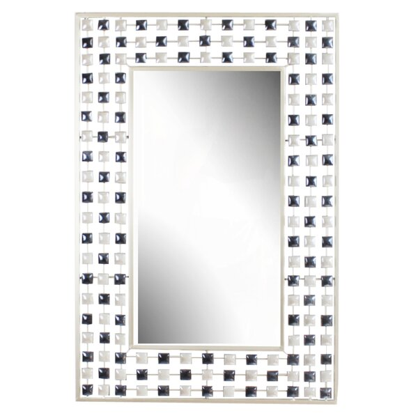 Metal Wall Mirror by Hazelwood Home
