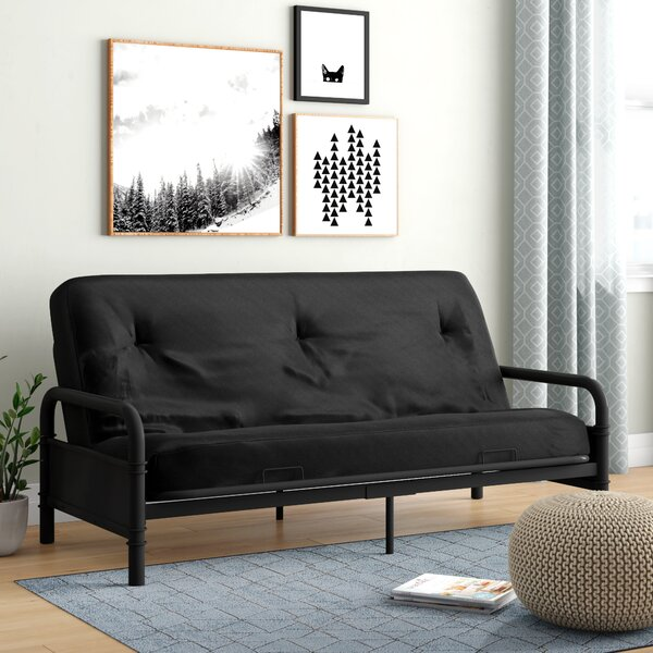 Best #1 Tunstall Futon And Mattress By Latitude Run