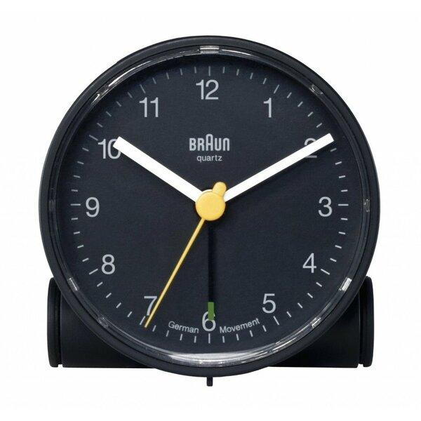 Round Alarm Tabletop Clock by Braun