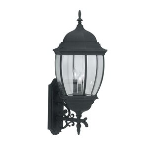 Inexpensive Thornhill 3-Light Outdoor Wall Lantern By Three Posts