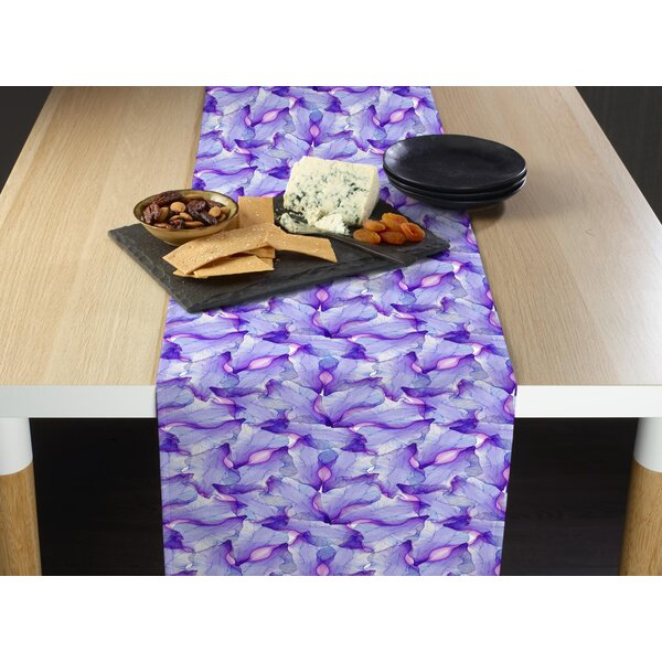 Mccloy Passion Iris Table Runner by Latitude Run