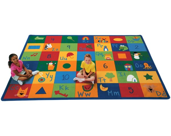 Emerado Learning Blocks Area Rug by Zoomie Kids