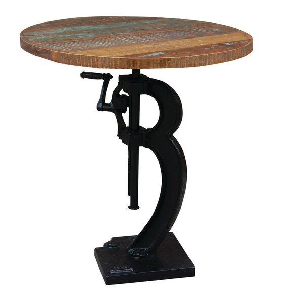 Adjustable Height Pub Table by Yosemite Home Decor