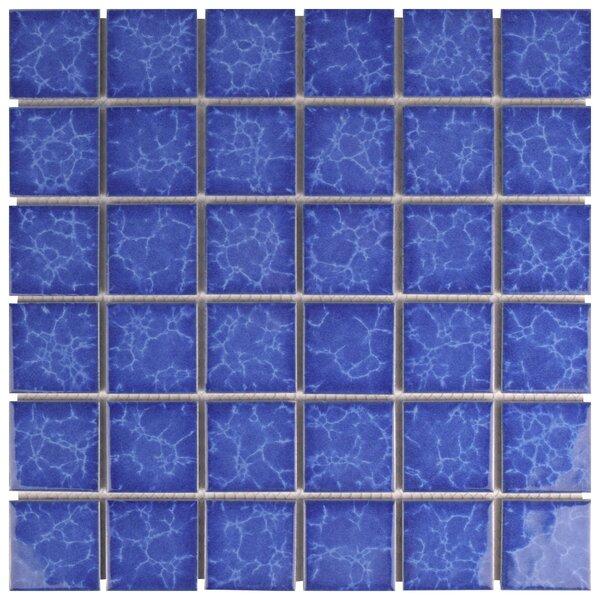 Waterfalll 2 x 2 Porcelain Mosaic Tile in Catalan by EliteTile