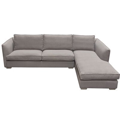 Hope Right Hand Facing Sectional Diamond Sofa