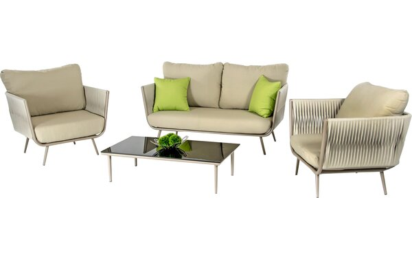 Ridgefield 9 Piece Sofa Set with Cushions by George Oliver